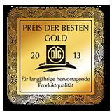 Preis der Besten in Gold